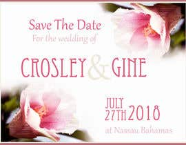 #19 for Wedding Save they date card design by bwcdesignsbykc