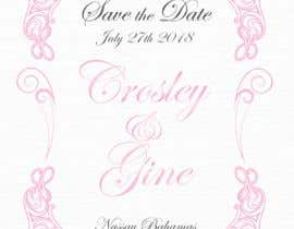 #26 for Wedding Save they date card design by LaGogga