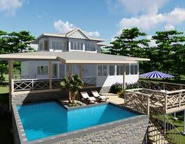 #18 for house plan 3d rendering af creatiVerksted