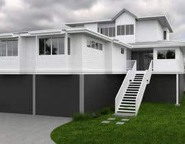 #21 for house plan 3d rendering af shachila