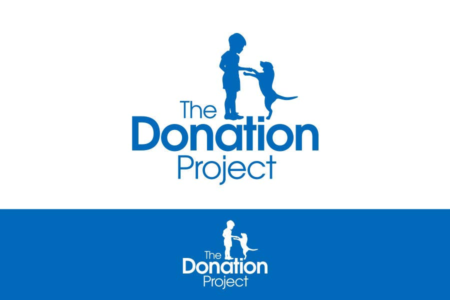 #90 for Logo Design for The Donation Project by neXXes