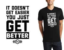 Wonderdax tarafından Who wants to design some cool T-shirts for a gym ? için no 25
