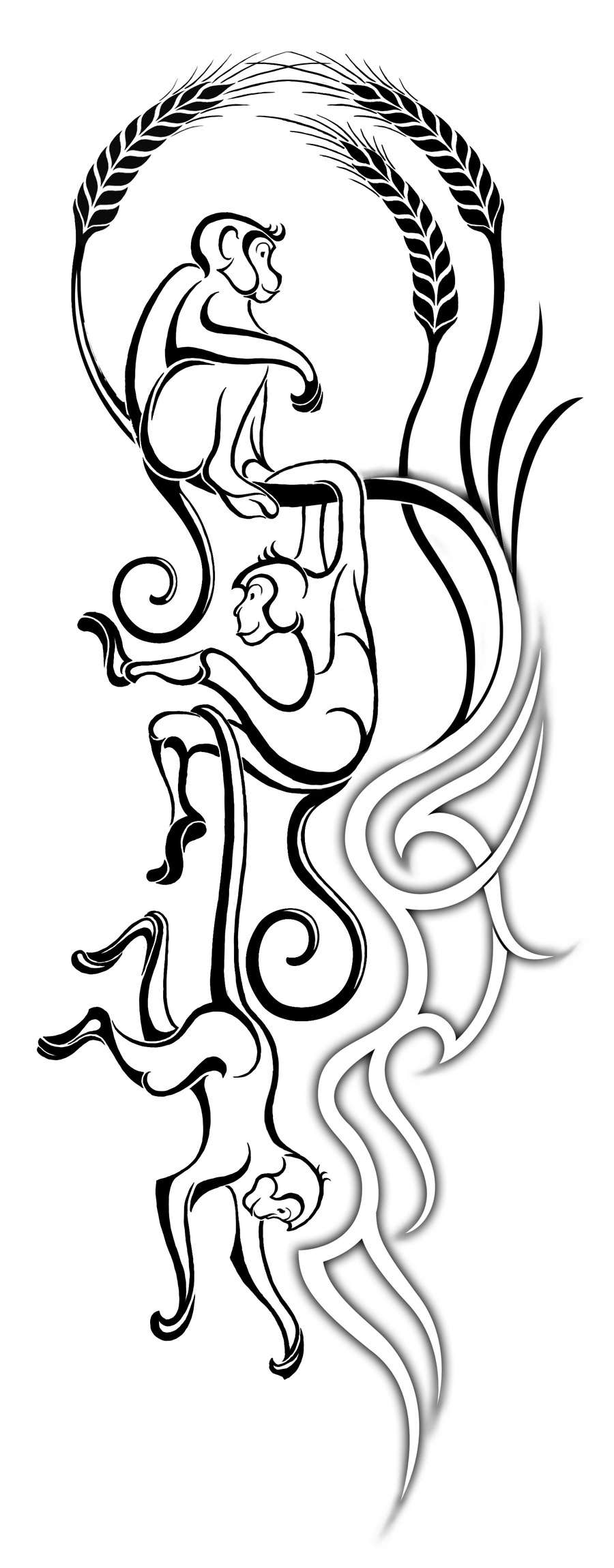 Konkurrenceindlæg #                                        9                                      for                                         I need some Creative Design for MY FIRST TATTOO