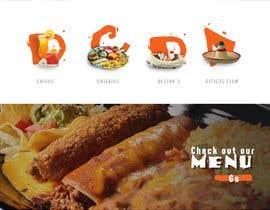 nº 15 pour Design a Website Mockup for Mexican Restaurant par cristic827