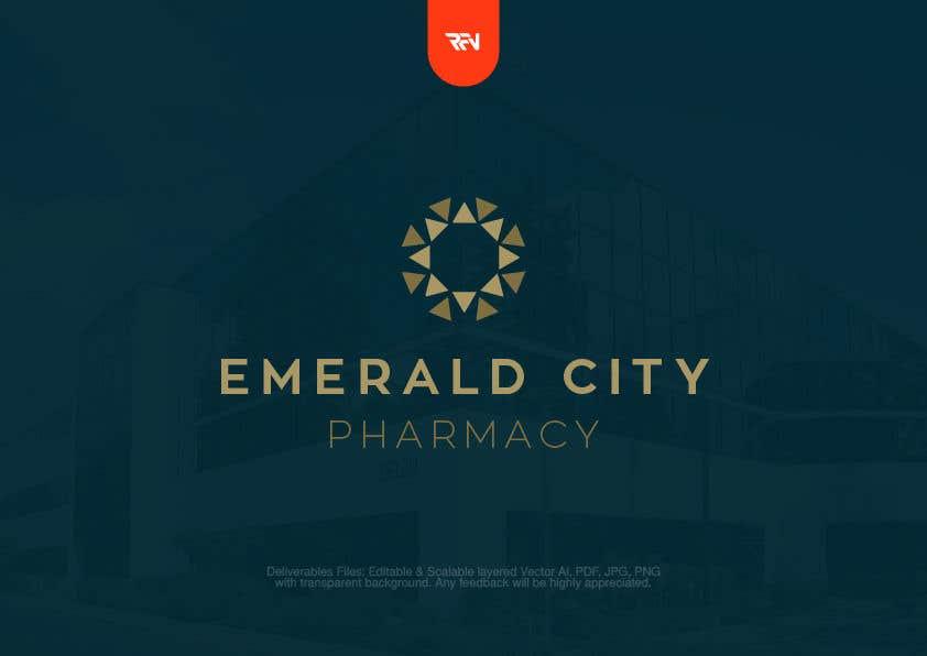 Bài tham dự cuộc thi #11 cho DESIGN A LOGO EMERALD CITY PHARMACY