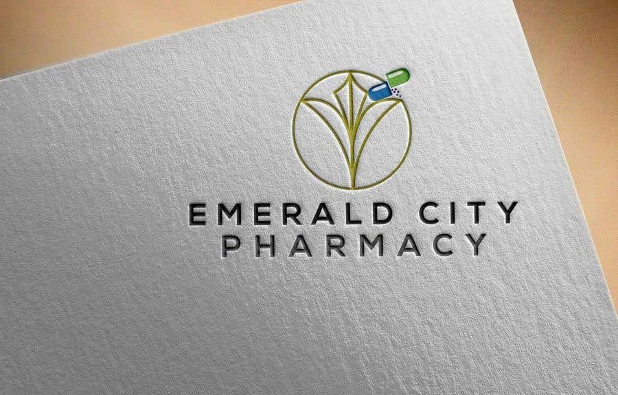 Bài tham dự cuộc thi #72 cho DESIGN A LOGO EMERALD CITY PHARMACY