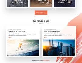 #10 for Design a travel consultant personal website af nizagen