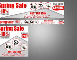 #44 para Design 3 x Banners - For Spring Sale de mooseangel