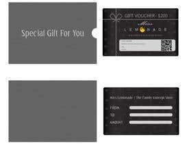 #8 cho E - Gift Card  + printable version with envelope bởi kshtzgpt1