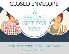 #1 cho E - Gift Card  + printable version with envelope bởi IbrahimKayed