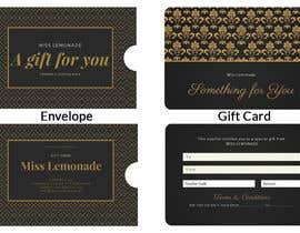 #3 cho E - Gift Card  + printable version with envelope bởi IbrahimKayed