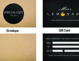 #5 untuk E - Gift Card  + printable version with envelope oleh rybak21