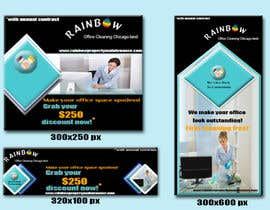 Nro 45 kilpailuun Design banners for office cleaning company käyttäjältä shuriya234