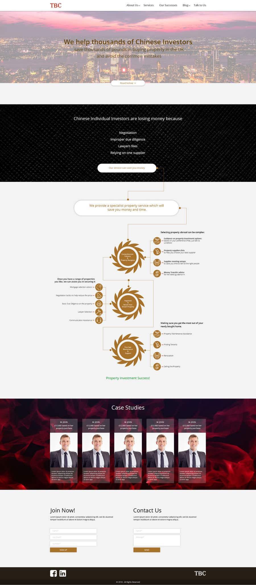 Penyertaan Peraduan #11 untuk Design a New Website Mockup (Just Design, No Code)!