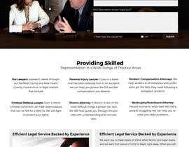 jituchoudhary tarafından Home page layout concept for law firm için no 6