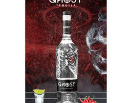 #7 for Bring Ghost Tequila to life in a hypothetical poster by ichddesigns