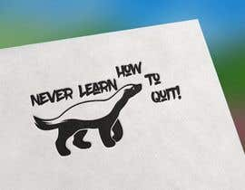"#5 for Honey Badger and the phrase ""Never Learn How to Quit"" av zwarriorxluvs269"