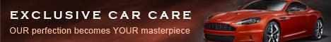 Penyertaan Peraduan #338 untuk Banner Ad Design for Exclusive Car Care