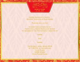 #5 для Indian Luxury Wedding Card/ Mehndi/ Henna Night / Valima Card Design від adiputra87