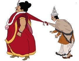 #16 , INDIAN Wedding BRIDE & GROOM Caricatures - FUNNY/ELEGANT Illustrations 来自 abhikabn