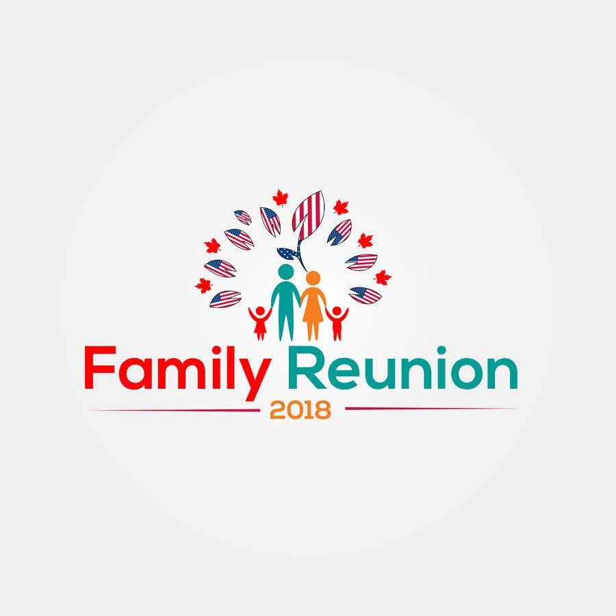 entry 31 by mmasumbillah57 for family reunion logo freelancer