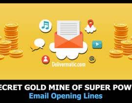 Nro 54 kilpailuun Design an Awesome Banner - Email Opening Lines käyttäjältä SmartBlackRose