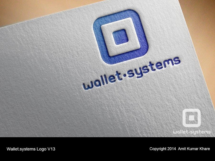 Penyertaan Peraduan #                                        57                                      untuk                                         Design a logo for wallet.systems