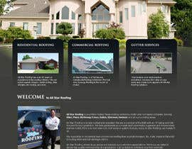 #2 pentru Website Design for All Star Roofing de către cromasolutions