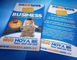 nº 5 pour Flyer Design for Nova Bookkeeping par creationz2011