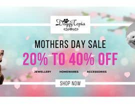 #46 for DoggyTopia Mothers Day Sale Marketing Design by asaduzaman