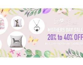 #15 for DoggyTopia Mothers Day Sale Marketing Design by kilibayeva