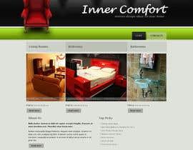 #10 для Design a Website Mockup for Individual від krishnauniyal29