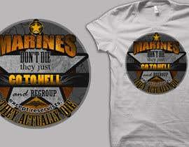 dherbert412 tarafından Design a T-Shirt for Marines için no 3