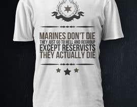 VectorMedia tarafından Design a T-Shirt for Marines için no 12