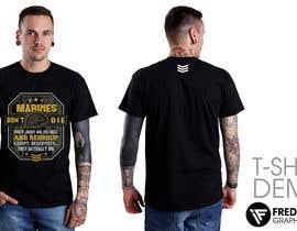 FredrikWei tarafından Design a T-Shirt for Marines için no 13