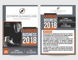 #30 for Extreme Business 2018 - Flyer by ahmadyusuf1998