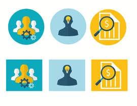 Nro 10 kilpailuun Design icons for features käyttäjältä vucha