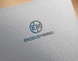 #1054 pentru Exodus Mining Logo Design de către miltonhasan1111