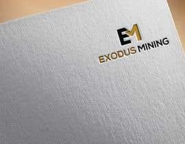 #407 pentru Exodus Mining Logo Design de către logoexpertbd