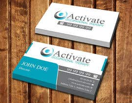 #45 untuk Design some Business Cards for Activate Occupational Therapy oleh dinesh0805