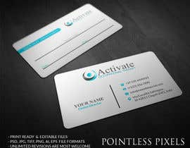 #17 untuk Design some Business Cards for Activate Occupational Therapy oleh pointlesspixels