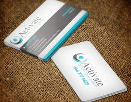 #63 untuk Design some Business Cards for Activate Occupational Therapy oleh nuhanenterprisei