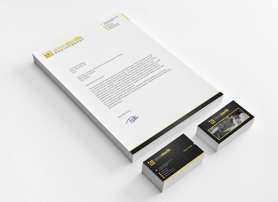 Konkurrenceindlæg #6 for Stationery Design for a Photography Studio