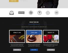 nº 4 pour WordPress Website Mockup for Attorney par shazy9design