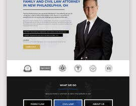 nº 6 pour WordPress Website Mockup for Attorney par shazy9design