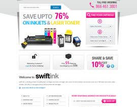#65 para Website Design for Swift Ink por shoahmed