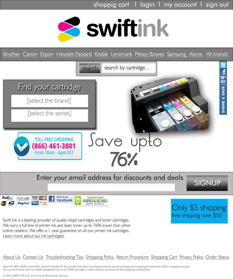 Entry #7 by azkaik for Website Design for Swift Ink | Freelancer