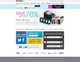 #43 para Website Design for Swift Ink por earlybirdvw