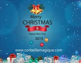 #8 para Design a Christmas greeting card por amitjangid0808