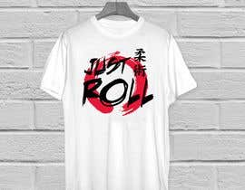 "#32 cho Jiu-jitsu shirt design. I need the words ""Just Roll"" drawn or custome font. bởi KaimShaw"